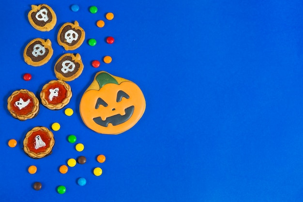 Halloween gingerbread and biscuits