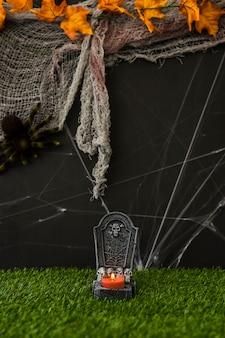 Decorazione del cimitero di halloween