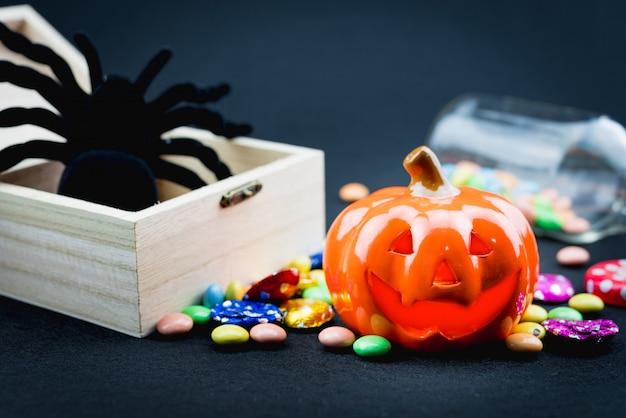 Halloween holiday elements