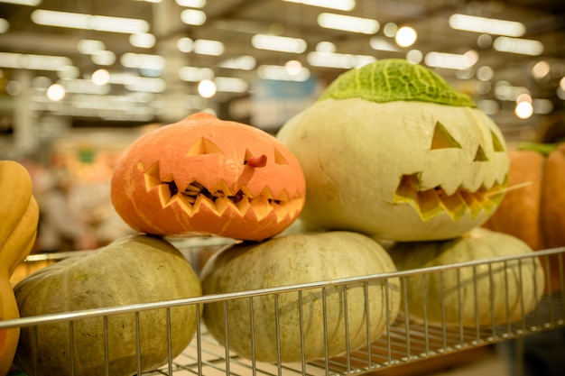 Halloween pumpkin collection for sale at store