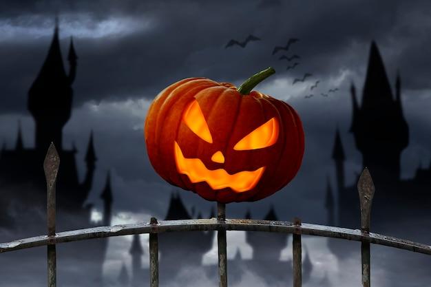 Тыквенная улыбка на хэллоуин