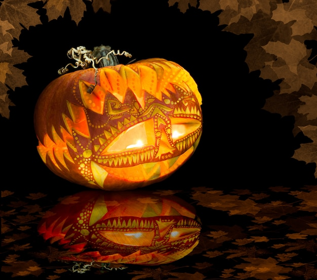 Хэллоуин тыква