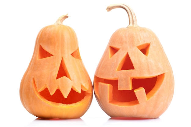 Хэллоуин тыквы изолированные