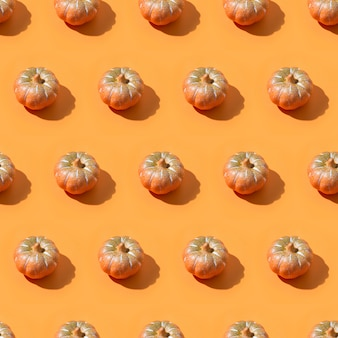 Halloween seamless pattern of pumpkin for wallpaper or pack paper.