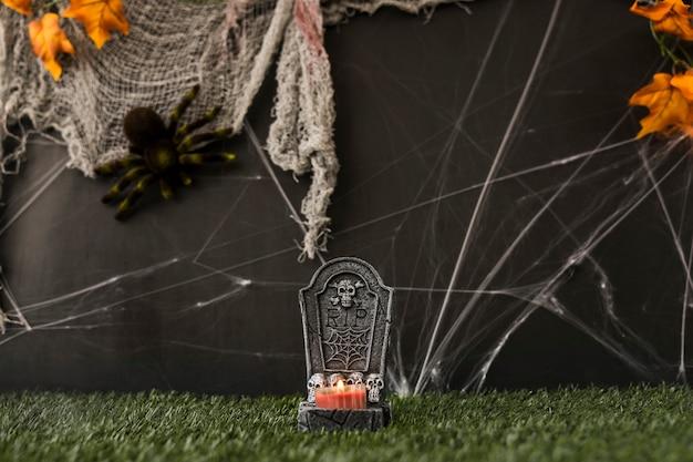 Cimitero di terrore di halloween