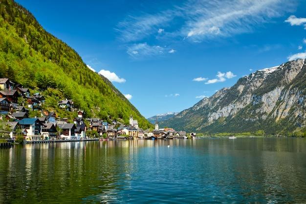 オーストリア、ハルシュタットの村