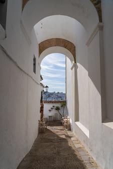 ベヘールデラフロンテーラ、スペインの日中の廊下