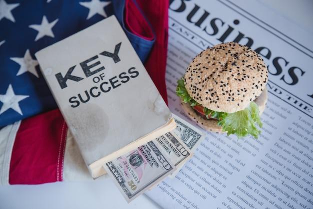 Гамбургер и бизнес