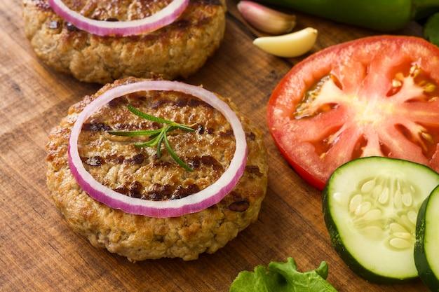 Ингредиенты гамбургера