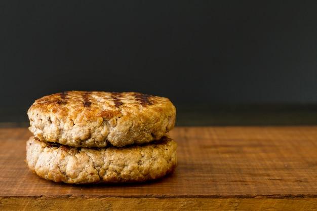 Мясо гамбургера
