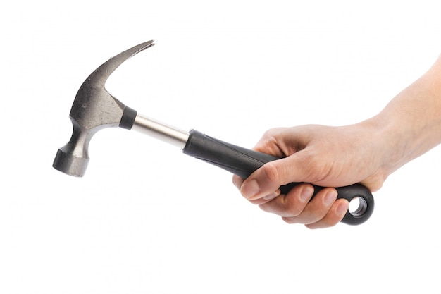 Hammer isolated on a white