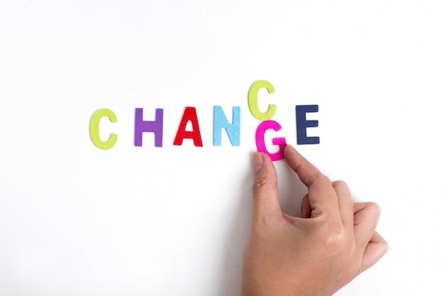 Рука и слово шанс, бизнес