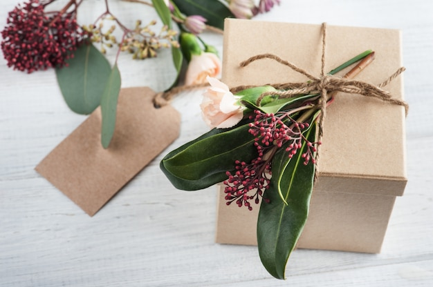 Hand crafted gifts and tag