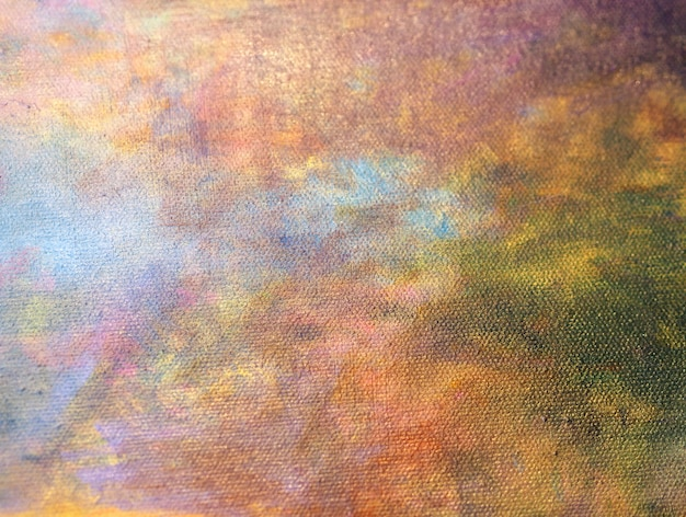 Hand draw colorful oil paint abstract background.