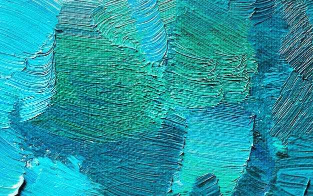 手描きの油絵。抽象芸術の背景。油絵の質感