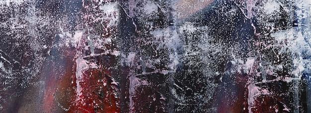 手描き絵画抽象芸術パノラマ背景色テクスチャデザインイラスト