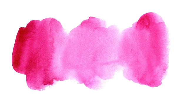 手描きのピンクの水彩スポット抽象的な水彩背景