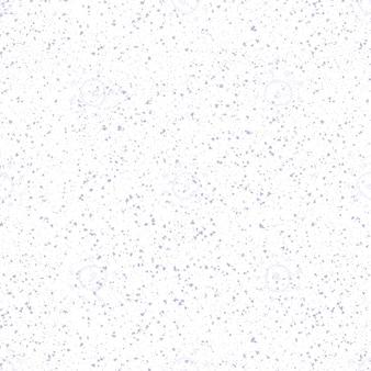 Ручной обращается снежинки рождество бесшовные модели. тонкие летающие хлопья снега на фоне снежинок мела. очаровательный мел, нарисованный вручную снегом. необычное украшение праздничного сезона.