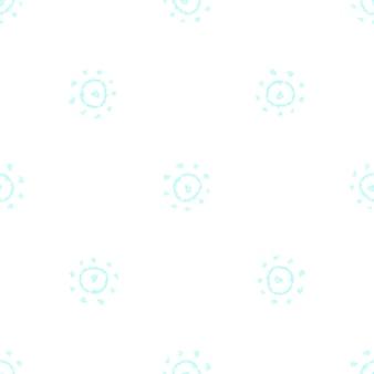 Ручной обращается снежинки рождество бесшовные модели. тонкие летающие хлопья снега на фоне снежинок мела. изумительный снег, нарисованный от руки мелом. креативное украшение курортного сезона.
