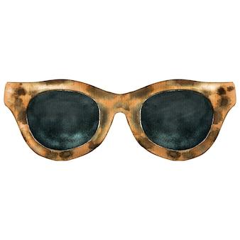 Рисованные солнцезащитные очки