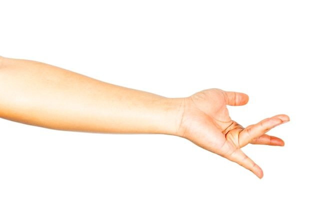 Hand gestures that show sexual stimulation.
