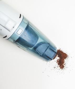 A hand-held vacuum cleaner