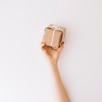 Hand holding present