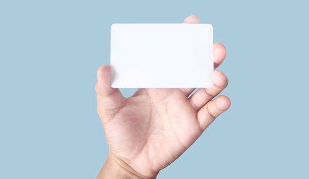 あなたと一緒に表示されている仮想カードを持っている手