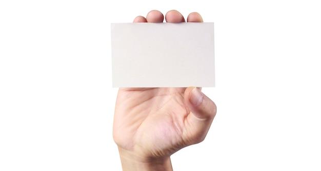 Рука держит виртуальную карту