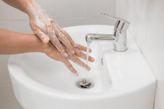 Hand hygiene is key to helping protect from coronavirus covid-19