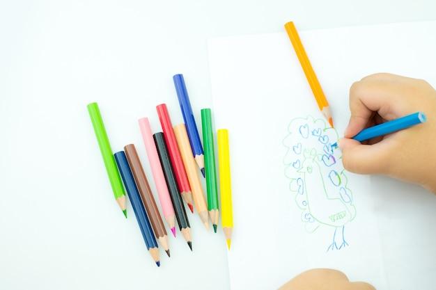 손 어린이 그림