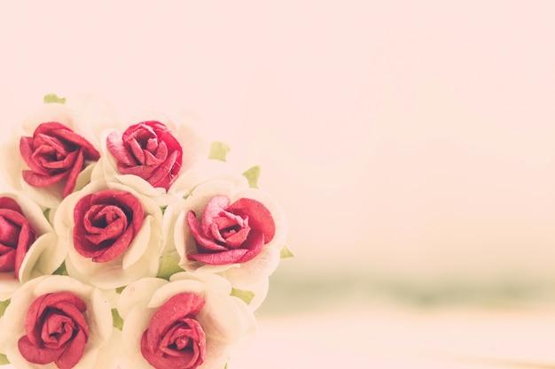 Hand make flowers roses