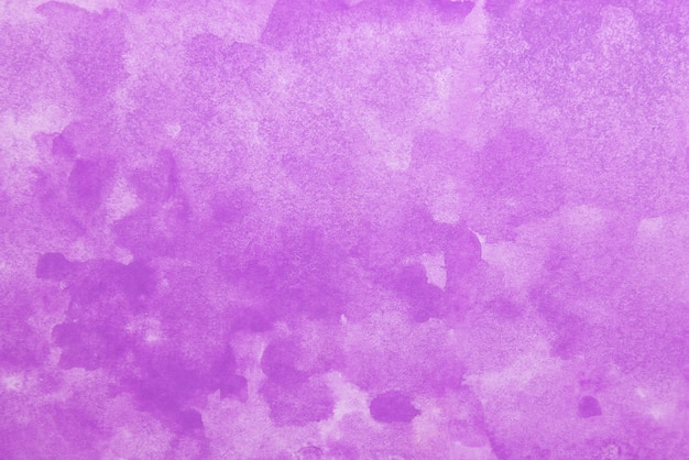 Hand painted purple watercolor.