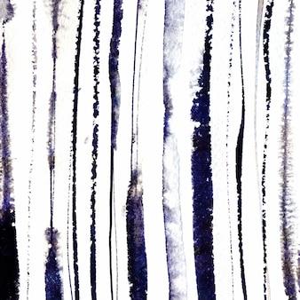 Ручная роспись вертикальных полос blackink фон