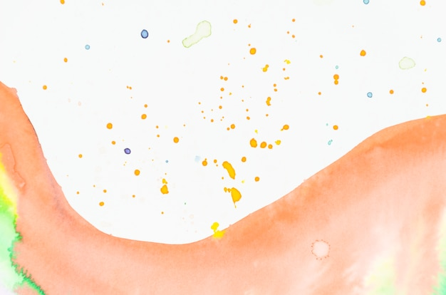 Hand painted watercolor splash background