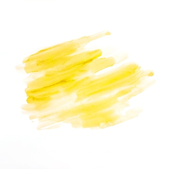 Hand painted watercolor yellow texture