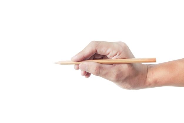 펜 흰색 절연 손