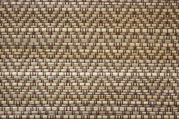 Handcraft rattan woven texture for background