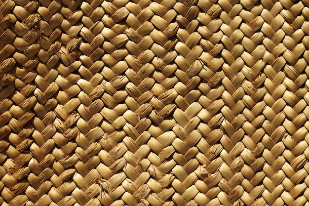 Handcraft weave texture natural vegetal fiber