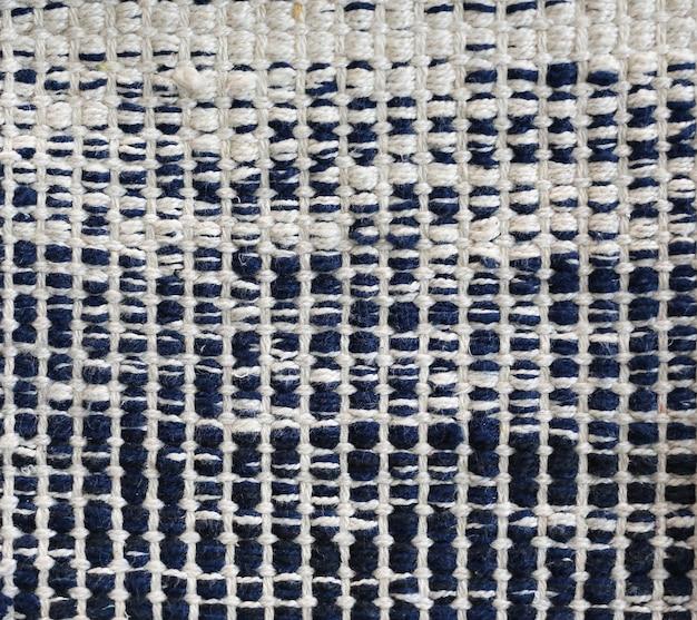 Плоские плетеные хлопковые коврики ручной работы