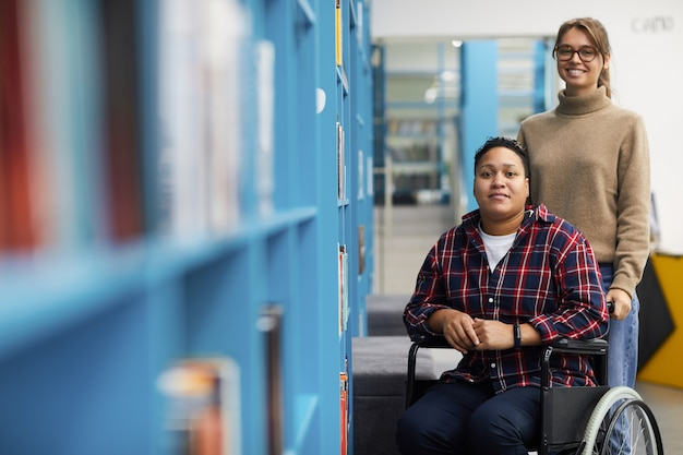Handicapped student assistance