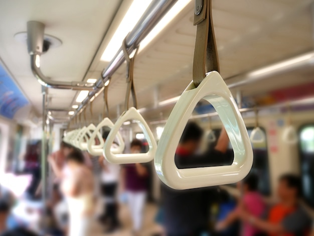 Handle loop in sky train.
