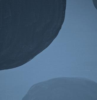 Handmade abstract boho wall art hand painted acrylic on canvas scandinavian modern minimalist