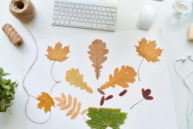 Осенние украшения ручной работы