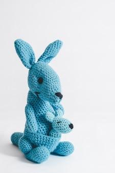 Handmade beautiful crochet kangaroo