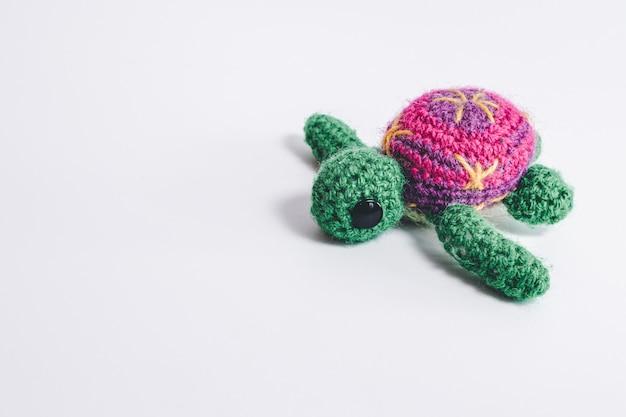 Handmade beautiful crochet turtle