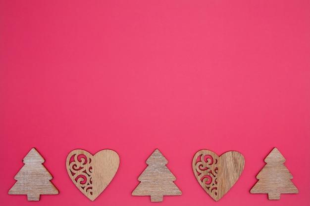 手作りのクリスマスのおもちゃ。