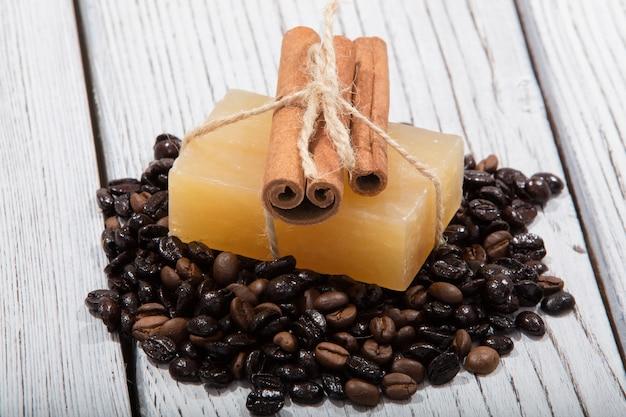 Мыло ручной работы с ароматом кофе