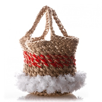 Handmade crocheted eco bag