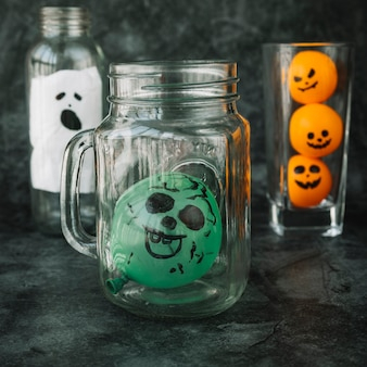 Handmadedecorations for halloween